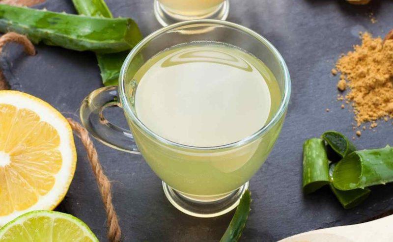 aloe vera con limon remedio casero saludable