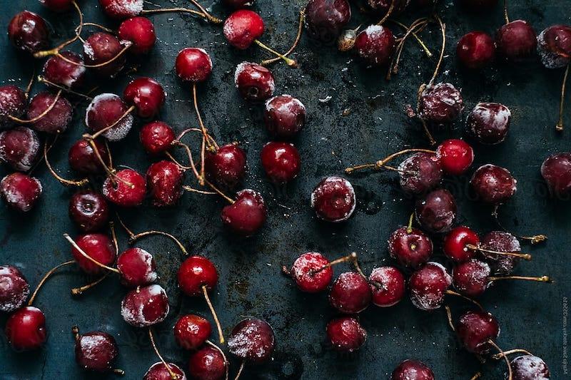 eingefrorene kirschen aufbewahren und verarbeiten smoothie rezept