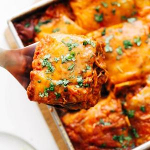 gesunde schnelle rezepte einfache lasagna