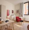 modernes hausbau wohnideen wohnzimmer und küche in einem