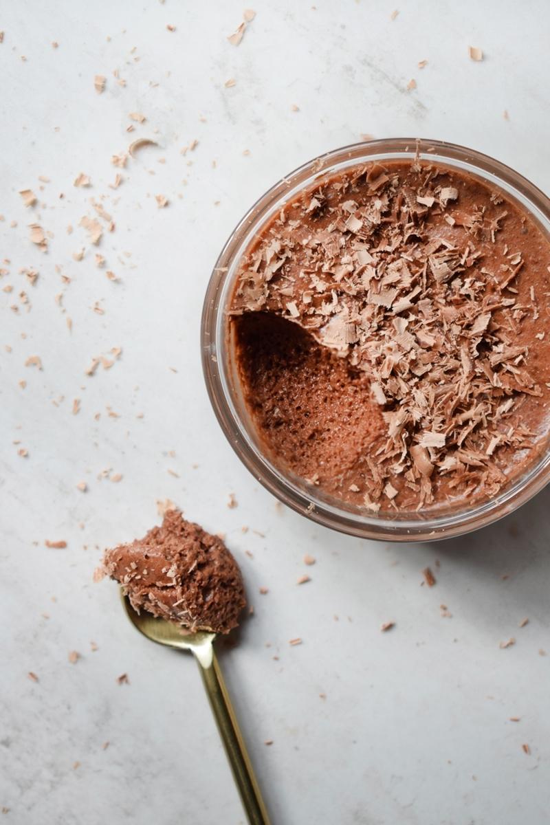 mousse mit schokolade schnelle gesunde rezepte