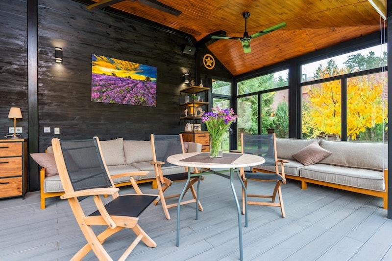 sprossenfenster anthrazit kunststofffenster kaufen großes wohnzimmer wand kunststofffenster holzmöbel