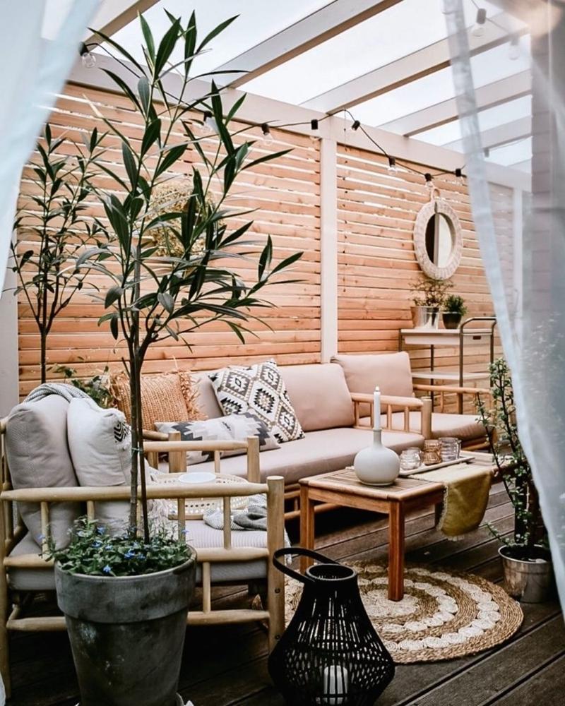 terrassen gestaltung ideen 2021 kleine terasse gestalten