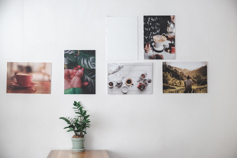 wandgestaltung inspiration und ideen leinwanddruck