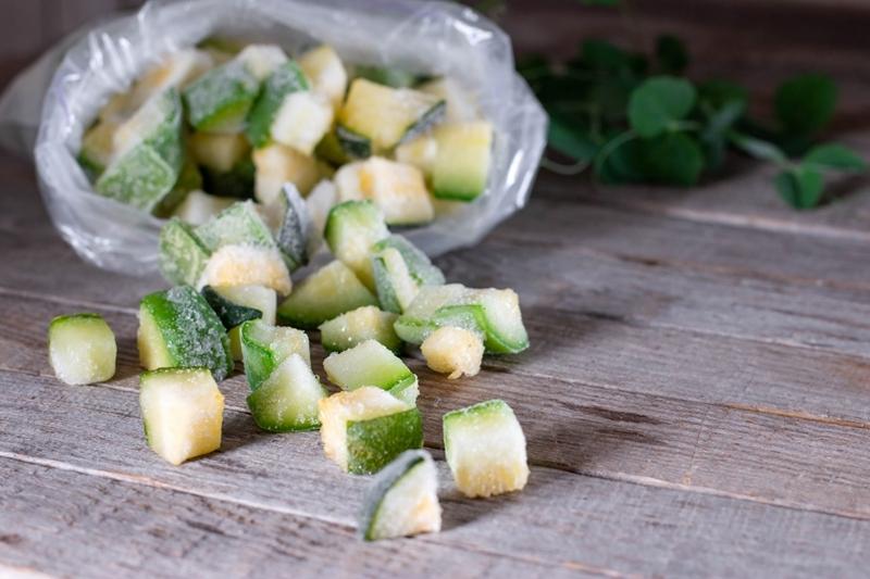 zucchini haltbar machen gemüse richtig einfrieren