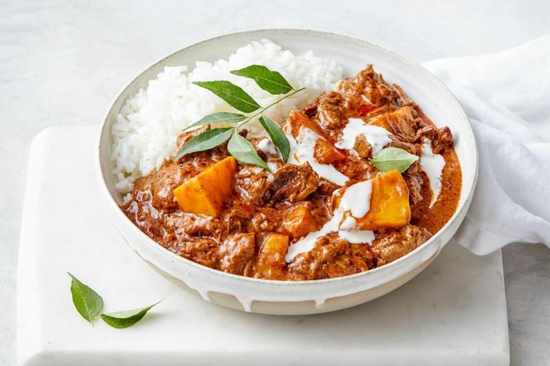 3 rindfleisch kürbis curry herbstessen selber zubereiten rezepte