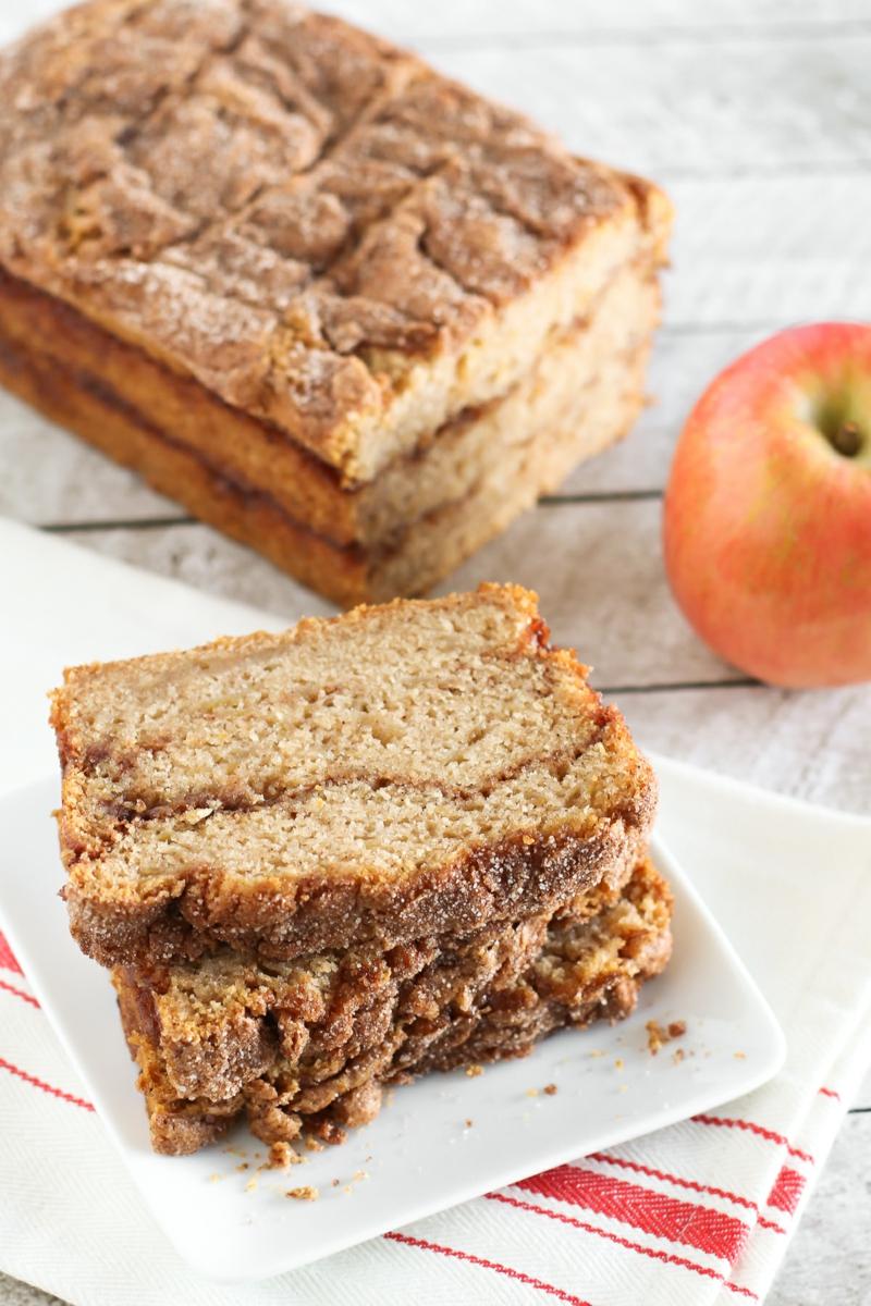 3 einfaches glutenfreies brot rezept mit äpfeln