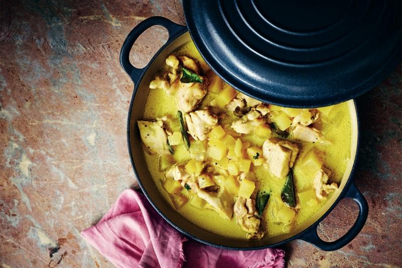 eintopf mit huhn und kartoffeln herbstliche rezepte zubereiten
