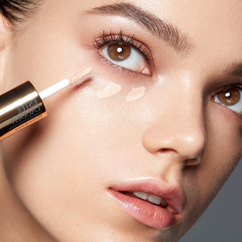 eyeliner schlupflider farbiger eyeliner hacks lidstrich ziehen concealer auftragen