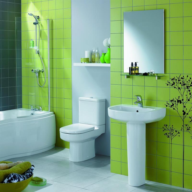 fliesen fugenfarbe erneuern grünes badezimmer mit badewanne