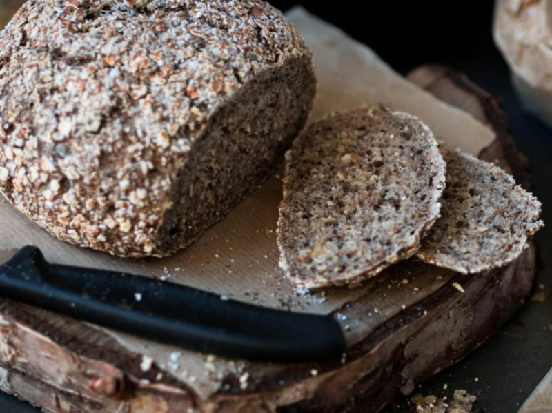 geschnittene stücke brot glutenfrei selber machen leichte rezepte