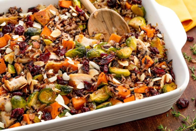 gesunde kasserolle herbst gerichte leckere rezepte