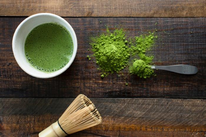 grüner tee koreanische kosmetik