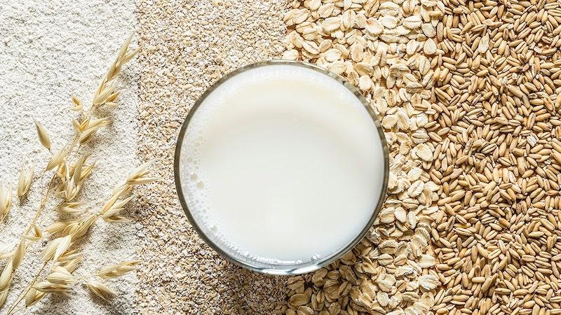 hafermilch haltbar machen haferflocken variante und sorten und glas milch
