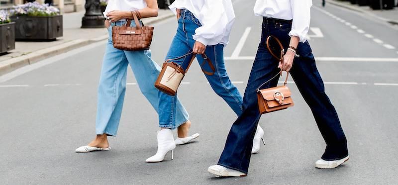 hosen trends mom jeans in drei variationen streetstyle