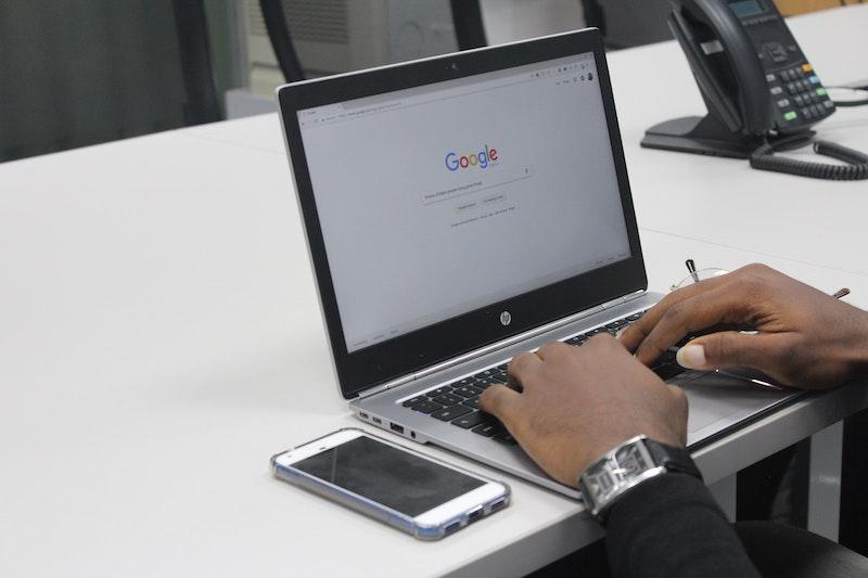 hp laptop google suchmaschine digital marketing werkzeuge