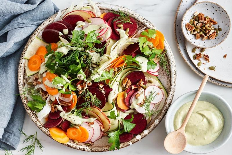 leichte rezepte leckere herbstgerichte gesunder salat