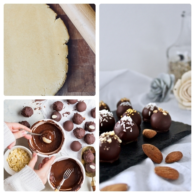 marzipan rezept marzipanpralinen in schokolade tunken