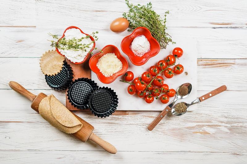 tomatentarte fingerfood ideen mini tomatentorteletts selber machen