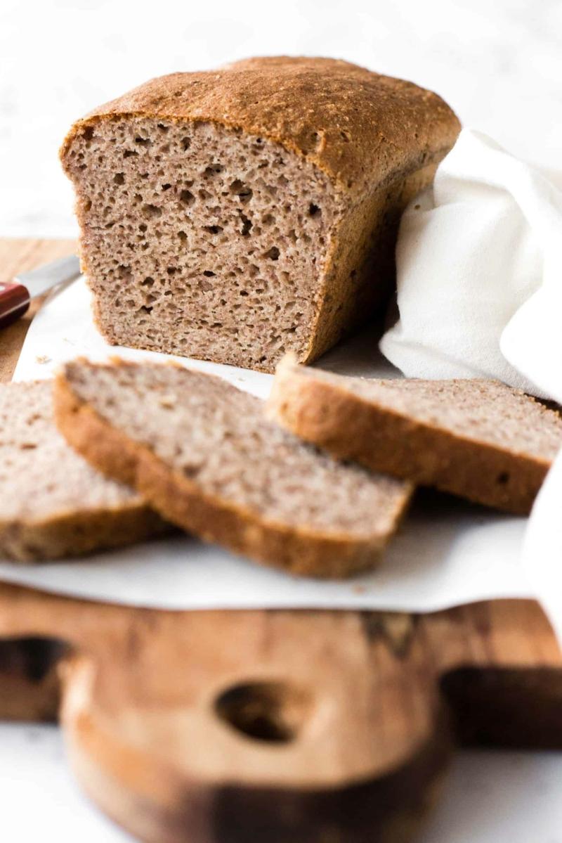 weiches einfaches glutenfreies brot rezept leicht und schnell