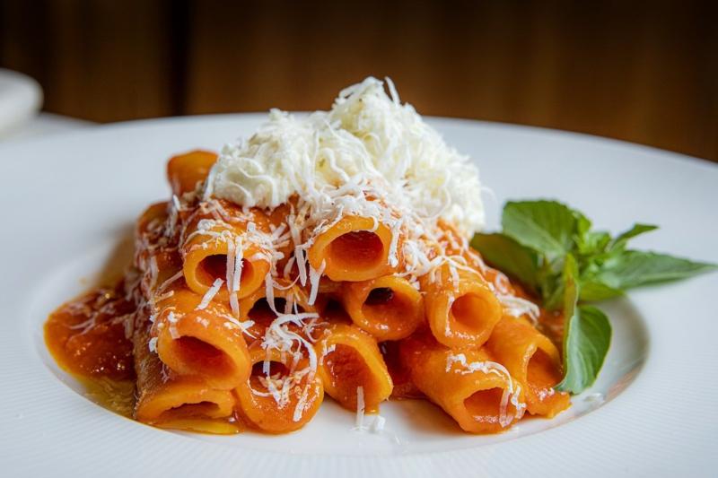 würzige rosmarin tomaten sauce ricotta pasta rezepte herbst ideen