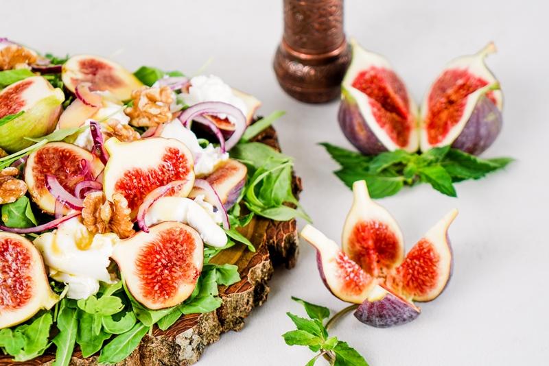 feigen rezepte archzine studio schneller einfacher salat