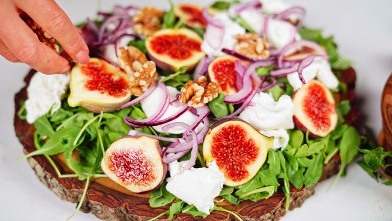 feigen rezepte sommersalat einfach und schnell gesunde salate