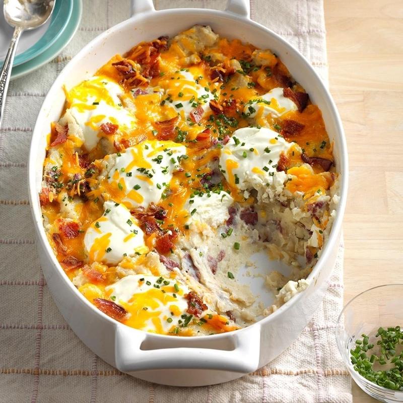 gerichte mit kartoffeln kasserolle backen einfache abendessen ideen