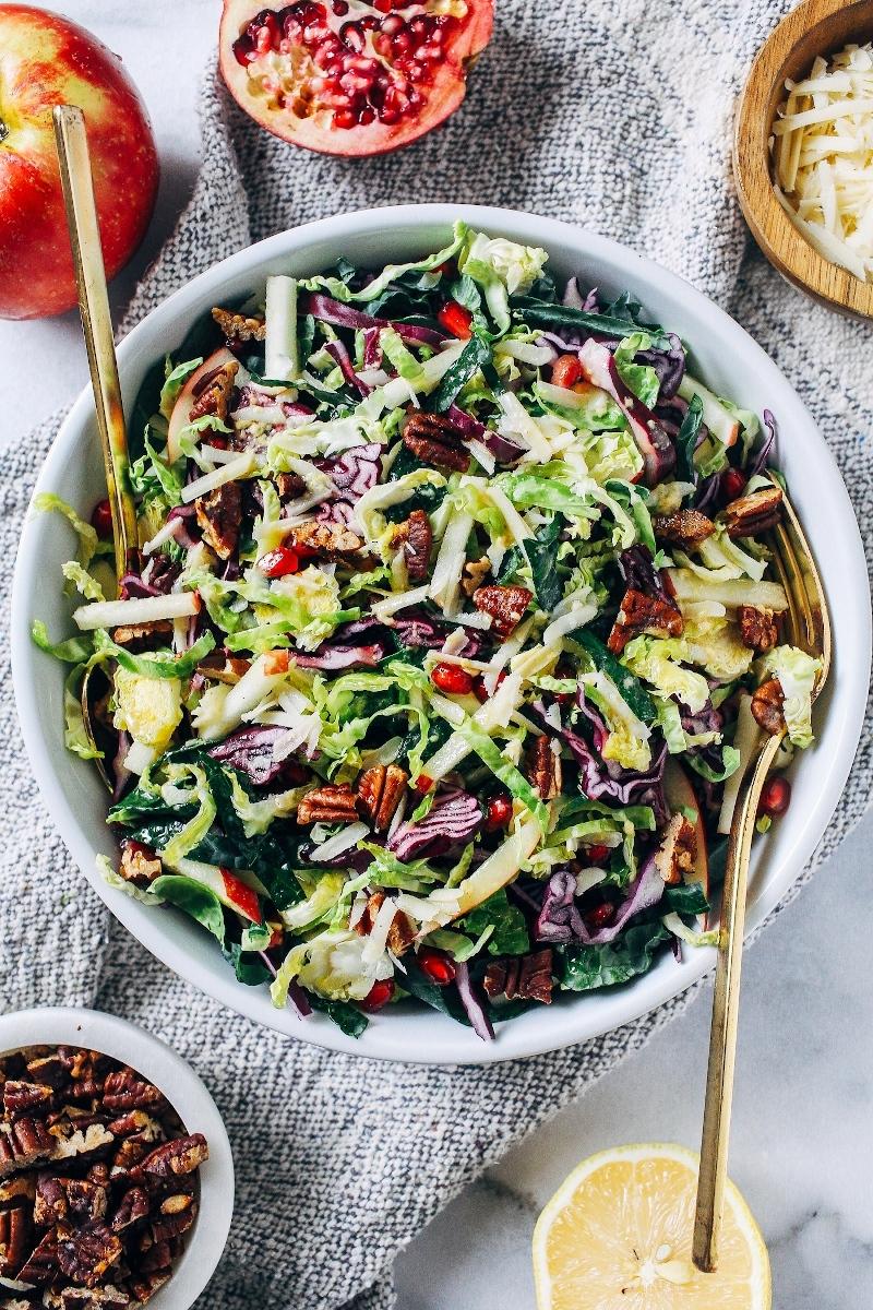 gesunde ernährung herbstsalat rezepte zum selber machen einfach und schnell