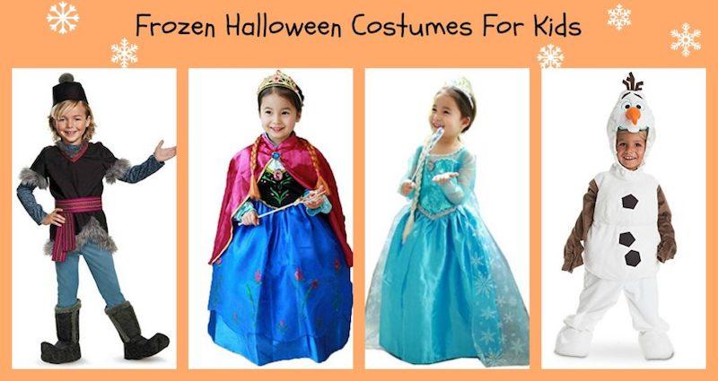 kinderschminken frozen jungen und mädchen kostüme