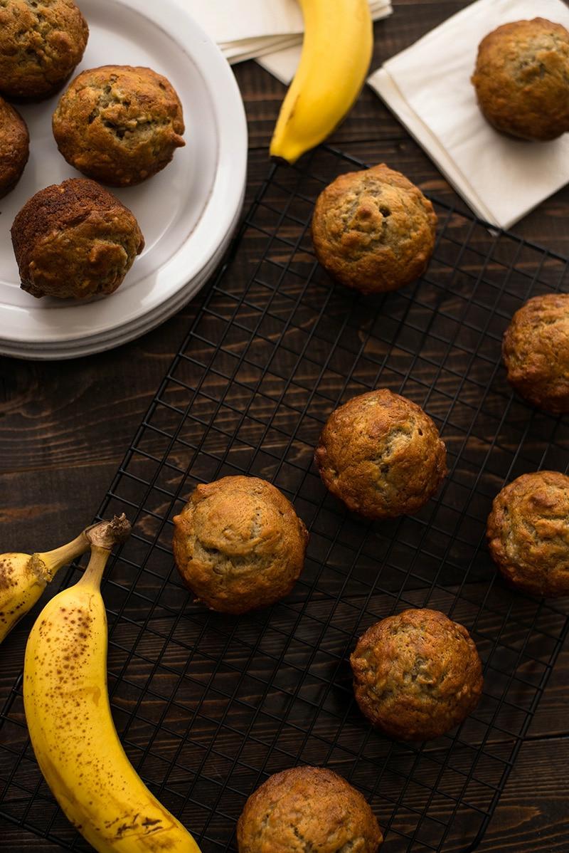 muffins backen mit bananen leckere dessert ideen