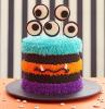 rezepte halloween halloween kuchen bunte torte monster eye
