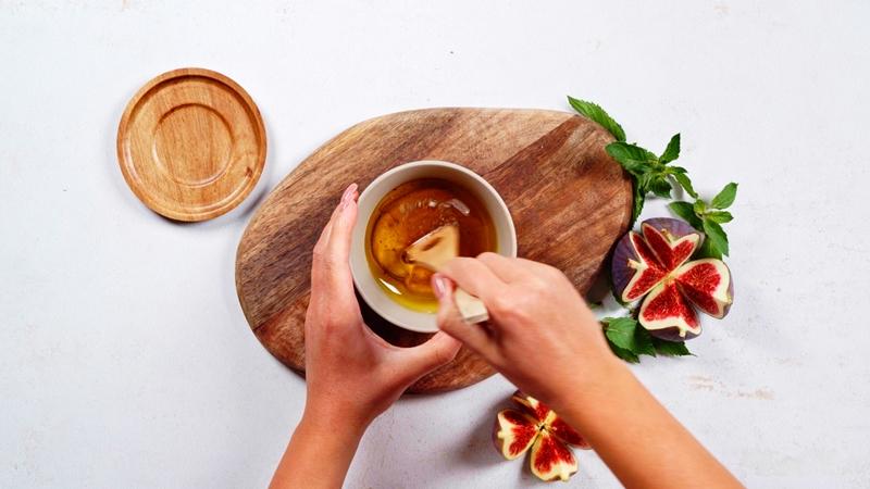 rezepte mit frischen feigen dressing mit dujon senf selber machen