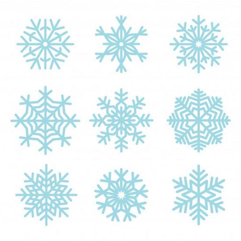 schneeflocke schminken 9 varianten von eiskristall vorlagen