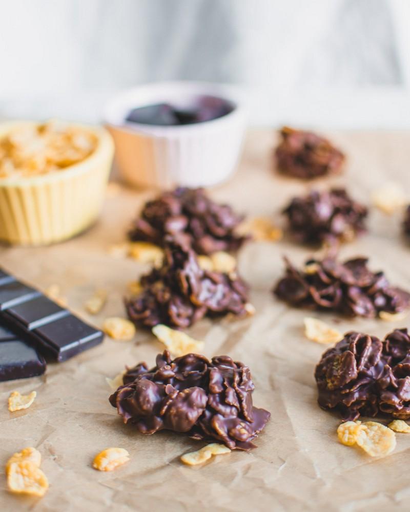 vegan schoko crossies mit schokolade und mandeln wie lange schoko crossies lagern